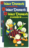 Golden Age (1938-1955):Funny Animal, Walt Disney's Comics and Stories Group (Dell, 1955-58) Condition:Average VG+. This group includes #175-185, 187-193, 201, a...(Total: 20 Comic Books Item)