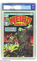 Bronze Age (1970-1979):Horror, Weird Wonder Tales #3 (Marvel, 1974) CGC NM 9.4 Off-white to whitepages. Bill Everett art. Overstreet 2003 NM 9.4 value = $...