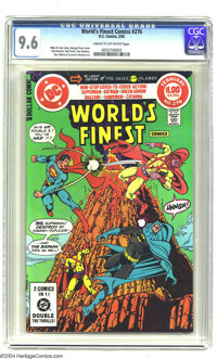 World's Finest Comics #276 (DC, 1982) CGC NM+ 9.6 Cream to off-white pages. George Perez cover. Overstreet 2003 NM 9.4 v...