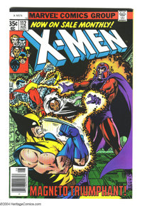 X-Men #112 (Marvel, 1978) Condition: NM-. George Perez cover. John Byrne art. Overstreet 2004 NM- 9.2 value = $55. From...