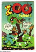 Golden Age (1938-1955):Funny Animal, Zoo Funnies 101 (#1) (Charlton, 1945) Condition: GD/VG. Thefirst-ever Charlton comic. Al Fago cover. Cover is detached. Ove...