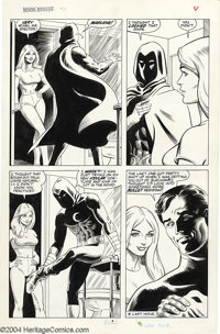 Russ Heath - Original Art for Moon Knight #4, Lot of 5 pages (Marvel, 1985). Lot of five exciting pages from Heath's one...