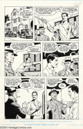 Original Comic Art:Panel Pages, Russ Heath - Original Art for Rocketeer Movie Adaptation, Lot of 4 Pages (1991). Lot of 4 includes pages 13, 29, 60, and 64....