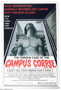 "Movie Posters:Comedy, Case of the Campus Corpse, The (Miraleste, 1977). One Sheet (27"" X41""). Starring Charlie Martin Smith and Brad Martin. Very..."