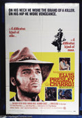 "Movie Posters:Western, Charro! (National General, 1969). One Sheet (27"" X 41""). ElvisPresley stars in this off-beat western, in which he doesn't p..."