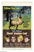 "Movie Posters:Comedy, Disney's That Darn Cat/Jungle Cat (Buena Vista, 1965). (2) WindowCards (14"" X 22""). Fine/Very Fine.... (Total: 2 Item)"