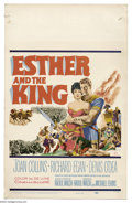 """Movie Posters:Swashbuckler, Esther and the King (20th Century Fox, 1960). Window Card (14"""" X22""""). Based on the biblical story of Queen Esther, this was..."""