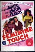 "Movie Posters:Comedy, Feminine Touch (MGM, 1941). Australian One Sheet (27"" X 40""). DonAmeche and Rosalind Russell star in this MGM comedy. Very ..."