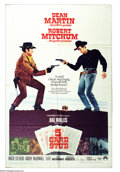 "Movie Posters:Western, Five Card Stud (Paramount, 1968). One Sheet (27"" X 41""). DeanMartin and Robert Mitchum star in western -mystery about a sma..."