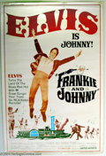 "Movie Posters:Musical, Frankie and Johnny (United Artists, 1966). (40"" X 60""). Elvis Presley stars as Johnny and Donna Douglas, of Beverly Hillbill..."