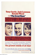 "Movie Posters:Comedy, Great Race, The (Warner Brothers, 1965). Window Card (14"" X 22"").Blake Edwards directed this mid 1960's, mad-dash, chase fi..."