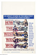 "Movie Posters:Western, How the West Was Won (MGM, 1964). Window Card (14"" X 22""). HenryHathaway's sweeping western epic that starred every major n..."