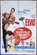 """Movie Posters:Elvis Presley, It Happened at the World's Fair (MGM, 1963). One Sheet (27"""" X 41""""). Elvis is at the Seattle World Fair and in 1963. . Kurt R..."""