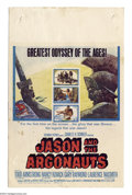 "Movie Posters:Fantasy, Jason and the Argonauts (Columbia, 1963). Window Card (14"" X 22""). This film featured Ray Harryhausen's glorious special eff..."
