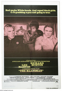 """Klansman, The (Paramount, 1974). Style B One Sheet (27"""" X 41""""). This style sheet is the rare one, and sought a..."""