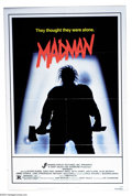 "Movie Posters:Horror, Madman (Jensen Farley, 1981). One Sheet (27"" X 41""). Slasher film of the 1980's. Very Fine+...."