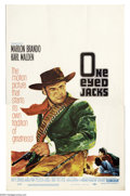"Movie Posters:Western, One-Eyed Jacks (MGM, 1961). Window Card (14"" X 22""). Marlon Brandomade his directorial debut in this classic story of reven..."