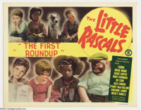"Our Gang Comedy (MGM, R-1950's). Lobby Card (11"" X 14""). Prior to the television debut of the ""Little Ras..."