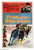 "Movie Posters:Drama, Pride of the Bluegrass (Allied Artists, 1954). One Sheet (27"" X 41""). Race horse tale with Vera Miles. Check out the blurb a..."