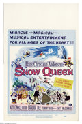 "Movie Posters:Animated, Snow Queen, The (Universal, 1960). Window Card (14"" X 22""). Thisfull-length animation feature was produced in the Soviet Un..."