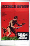 "Movie Posters:Adventure, Tarzan and the Jungle Boy (Paramount, 1968). One Sheet (27"" X 41"").Late 60's chapter in Hollywood's Tarzan franchise that b..."