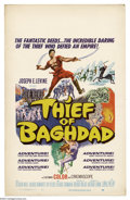 """Movie Posters:Fantasy, Thief of Bagdad, The(MGM, 1961). Window Card (14"""" X 22""""). Made in Italy and released in the U.S. this classic Steve Reeves f..."""