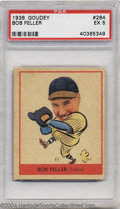 Baseball Cards:Singles (1930-1939), Baseball 1938 GOUDEY BOB FELLER #264 EX PSA 5. SMR Value= $...