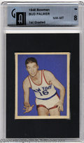 Basketball Cards:Singles (Pre-1970), Basketball 1948 BOWMAN JOHN PALMER #54 NM/MT GAI 8. SMR ...
