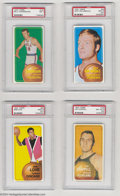 Basketball Cards:Lots, Basketball 1970 Topps 12 CARD LOT NM PSA 7. INCLUDES (9) ... (12cards)