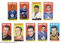 Hockey Cards:Lots, Hockey 1964 Topps (9) Card Lot EX UnCertified. Nine card ... (9cards)