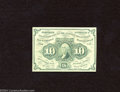 Fractional Currency:First Issue, Fr. 1242 10c First Issue Crisp Uncirculated+.A light bend ...