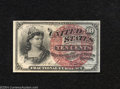 Fractional Currency: , 1869-1875 10c Fourth Issue, Liberty, Fr-1259, Choice CU. A cris...