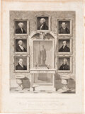 Political:Small Paper (pre-1896), Andrew Jackson: Engraving of the Presidents Through Andrew Jackson. ...
