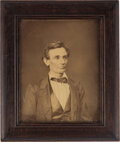 Political:Miscellaneous Political, Abraham Lincoln: Alexander Hesler Photograph by George B. Ayres....
