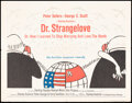 """Movie Posters:Comedy, Dr. Strangelove or: How I Learned to Stop Worrying and Love the Bomb (Columbia, 1964). Folded, Fine+. Half Sheet (22"""" X 28"""")..."""