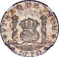 Colombia, Colombia: Charles III 8 Reales 1770 NR-VJ MS64 NGC,...