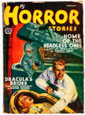 Pulps:Horror, Horror Stories - February 1941 (Popular) Condition: GD/VG....