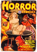 Pulps:Horror, Horror Stories - April/May 1938 (Popular) Condition: FR/GD....