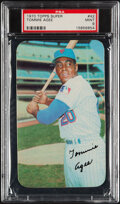 Baseball Cards:Singles (1970-Now), 1970 Topps Super Tommie Agee #42 PSA Mint 9....