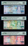 Matching Serial Number 000266 Set of 6 Examples Cayman Islands Monetary Authority 1; 5; 10; 25; 50; 100 Dollars 2010