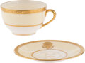 Political:Miscellaneous Political, Woodrow Wilson: Official White House China Teacup and Saucer Set....