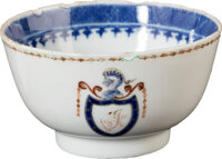 Thomas Jefferson: Chinese Export Teacup with Family Crest