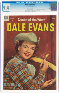 Four Color #528 Dale Evans - File Copy (Dell, 1954) CGC NM 9.4 Off-white pages