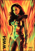 """Movie Posters:Action, Wonder Woman 1984 (Warner Bros., 2020). Rolled, Very Fine/Near Mint. Bus Shelter (48"""" X 70""""). Action.. ..."""