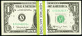 Small Size:Federal Reserve Notes, Fr. 1901-A* (5); B* (10); C* (11); D* (8); E* (8); F* (12); G* (11); H* (5); I* (5); J* (6); K* (5); L* (9) $1 1963A Federal R... (Total: 95 notes)