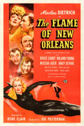 Movie Posters:Romance, The Flame of New Orleans (Universal, 1941). Fine+ on Linen...