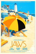 Movie Posters:Horror, Jaws (Mondo, 2013). Rolled, Near Mint+. Hand Numbe...