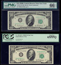 Small Size:Federal Reserve Notes, Fr. 2012-B $10 1950B Federal Reserve Note. PMG Gem Uncirculated 66 EPQ;. Fr. 2012-B* $10 1950B Federal Reserve Star Note. ... (Total: 2 notes)