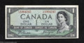 Canadian Currency: , BC-29b $1 1954 Devil's Face. About Uncirculated.