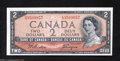 Canadian Currency: , BC-30b $2 1954 Devil's Face Choice Crisp Uncirculated. ...